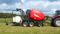 FlexiWrap – Integrated Bale Wrapper Combination